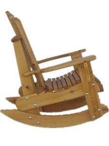 Mennonite made heavy duty cedar rocking rocker chairs