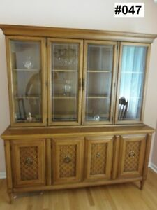 Solid cherry Dining Room Cabinet