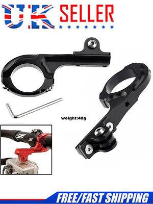 Bicycle Handlebar Clamp Mount Clip Aluminum For GoPro HERO 1 / 2 /3 / 3 +/4/5 hr