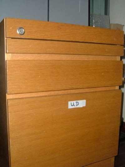 wooden pedestal , mobile cupboard,