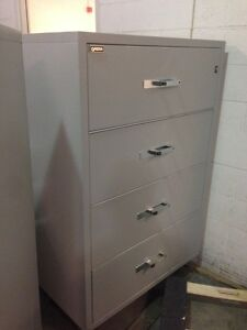 4 Drawer Lateral Fire Proof File Cabinets from Gaurdex Kingston Kingston Area image 3