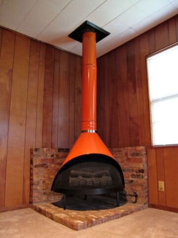 Malm, Preway, Majestic Electric or Wood Conical Fireplace   other ...