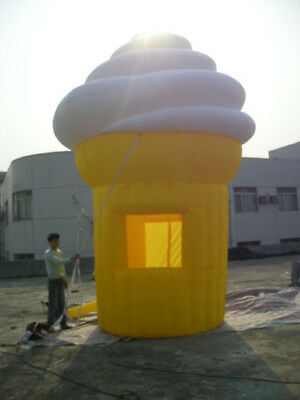 16ft.tall Commercial Inflatable Ice Cream Concession Stand Food Tent Booth