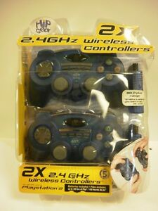 GAME CONTROLLERS NEW IN BOX FOR  PLAYSTATION 2
