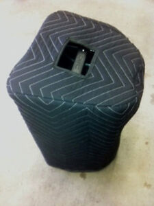 QSC K10 K 10 Custom Speaker Covers (2) BLACK 2 Handles!  Quantity of 1 = 1 Pair!