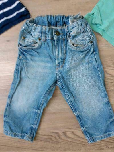 Set, Jeans Hose, Polo Shirt, Weste, H&M, 74 in Schwarzach am Main