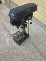 """LIKE NEW ONE - 8"""" MASTERCRAFT DRILL PRESS 120V, USED 1 TIME ONLY"""