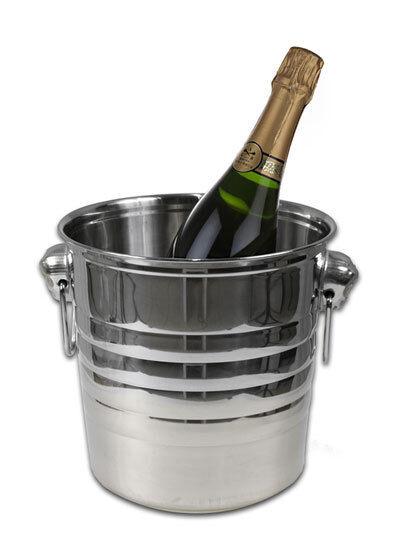 Secchiello Ghiaccio Ghiacciera Champagne Vino Spumante Cucina Inox dfh