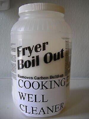 1-jug 8 Lb. Bulk Fryer Boil Out Cleaner For Broaster Frymaster Pitco Henny Penn