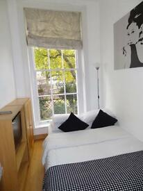 Studio flat in Cartwright Gardens, Bloomsbury, WC1H