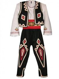 Traditional folklore costumes from Bulgaria