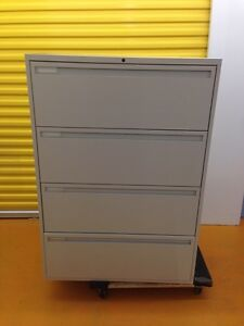 4 Drawer Lateral File Cabinets Avialable West Island Greater Montréal image 1