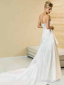 BNWT Ronald Joyce Ivory Wedding Dress
