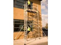 ALUMINIUM SCAFFOLD FOR HIRE - 8M HIGH