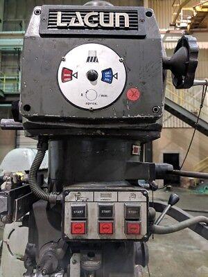 Lagun Ftv-4l Vertical Mill 113491