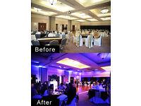 10x LED Uplighters 120watt RGBW for sell, mood lighting