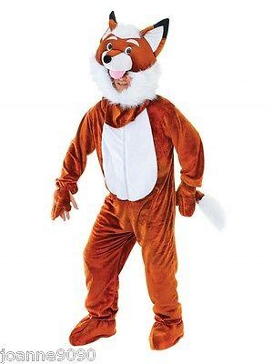 Fantstic Mr Fox Fancy Dress Costume Mascot Onesie Outfit Leicester City Football