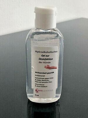 Hand-Desinfektionsgel hydroalkoholisch 5 x 75 ml - für Unterwegs