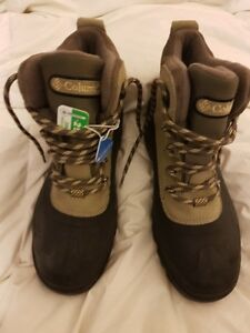 NEW NEW NEW TAGS on Columbia BOOTS with, women, (& Sorel men 9)