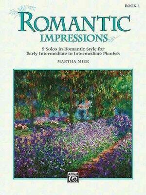 (Romantic Impressions, Book 1 : Early Intermediate to Intermediate, Paperback ...)