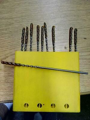 6 Long Guhring Solid Carbide Drills