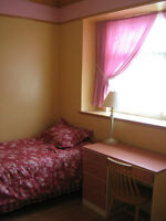 June 1st - Furn room with bay window avail to female share bath