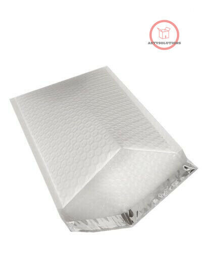 как выглядит 50 2 Poly Bubble Mailers 8.5x12 Padded Envelopes Self Sealing Bags /Recyclable фото