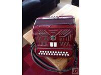 paolo soprani accordion 1950s blue badge