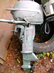 couple vintage outboards