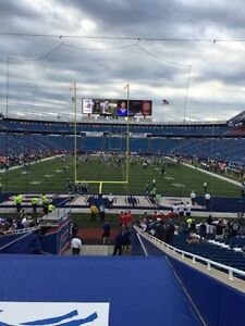 Four tickets Bills home opener 9/10 sec 122 BELOW FACE VALUE!!