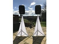 "2 x SkyTec 15"" Active Party PA Speakers £300"