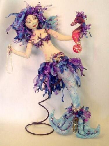"Cloth Art Doll Pattern ""Tarja"" By Michelle Munzone"