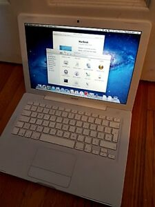 White Macbook 2008 120-500g 4g -6g