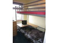 JAY-BE Studio 3 Bunk Bed, Desk and Futon Chair