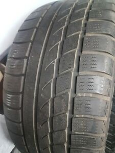 2x Tires Hankook Ice-bear W300 245 45 18. Very wide tires