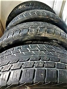 4 Tires 225 60 18 BFGoodrich Traction T/A good for ~ 2 seasons