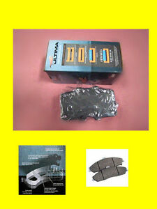 GENUINE-NEW-Nissan-Navara-D40-05-on-4WD-Front-Ultima-Brake-Pads-QUALITY-PARTS