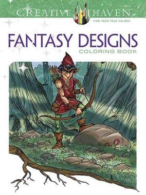 Купить Fantasy Designs Adult Coloring Book, Paperback by Pocock, Aaron (ART), ISBN 0...