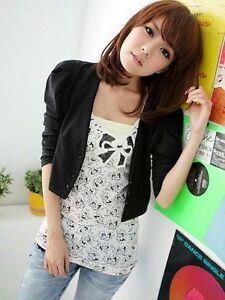 Blazer Japan Sakko Style 3/4 Ärmel Business Jacket Jacke Mantel 36 S Korea