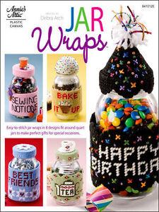 Plastic Canvas: Jar Wraps - 8 Designs - Annie's Attic