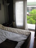 Furnished Room, bright, quiet ~ great location
