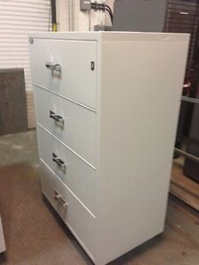 4 Drawer Lateral Fire Proof File Cabinets from Gaurdex Kingston Kingston Area image 4
