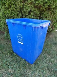 Blue Box Recycling Containers For Sale