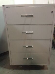 4 Drawer Lateral Fire Proof File Cabinets from Gaurdex Kingston Kingston Area image 1