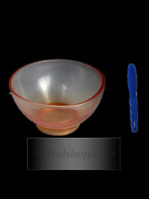 1pc Dental Flexible Rubber Mixing Bowl1pc Spatula Impression Material Alginate