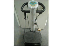 Upright Vibrapower plate exercise machine