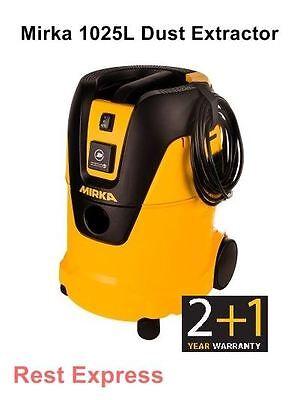 MIRKA 1025L 230v Vacuum Machine / Dust Extractor for CEROS/ DEROS/ MIRO UK 240v