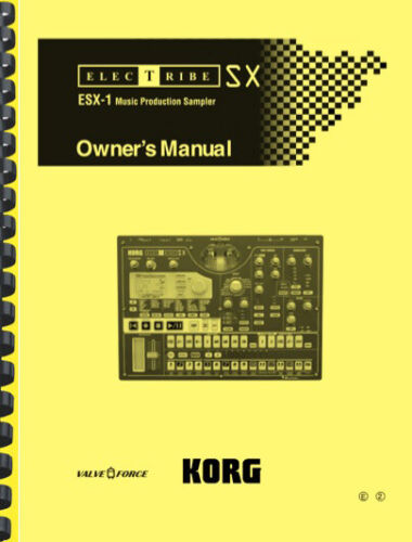 Korg Electribe ESX-1 OWNER