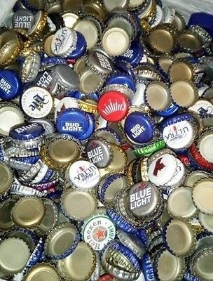 300 Beer Bottle Caps - No Dents.  (FREE SHIPPING)