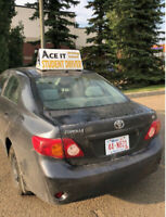 Class 5 Driving Lessons in Edmonton (English and Spanish)